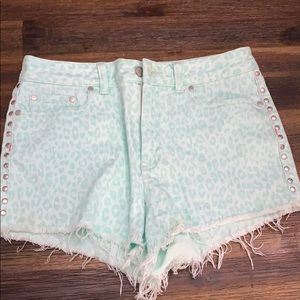 NWT VS PINK Studded Shorts
